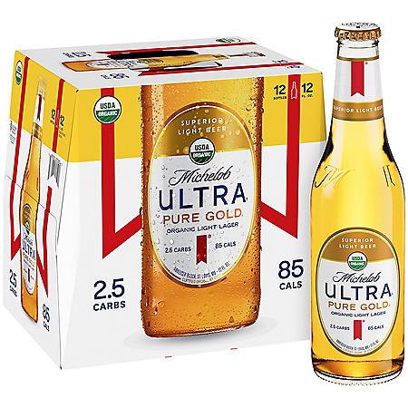 Michelob Ultra Pure Gold (12 fl. oz. bottle, 12 pk. X2)