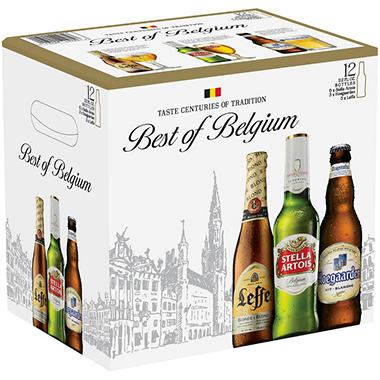 Best of Belgium Variety Pk. (11.2 fl. oz. bottle, 12 pk.)