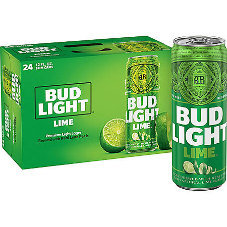Bud Light Lime (12 fl. oz. can, 24 pk.)