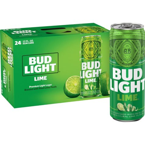 Bud Light Lime (12 fl. oz. can, 24 pk.)