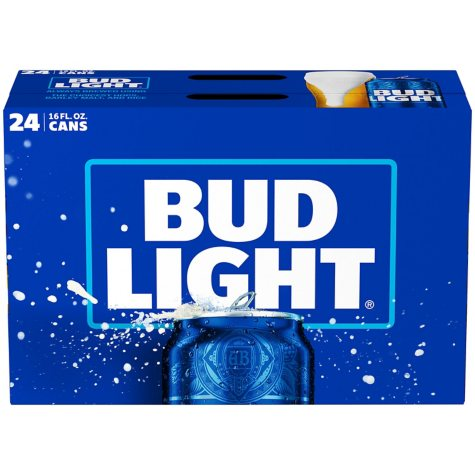 BUD LIGHT 24 / 16 OZ CANS
