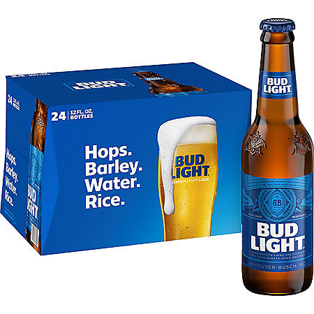 Bud Light Beer (12 oz. bottle, 24 pk.)