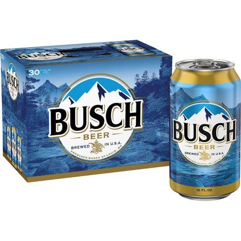 Busch Beer (12 fl. oz. can, 30 pk.)