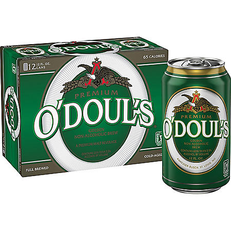 O'DOUL'S NA 12 / 12 OZ CANS
