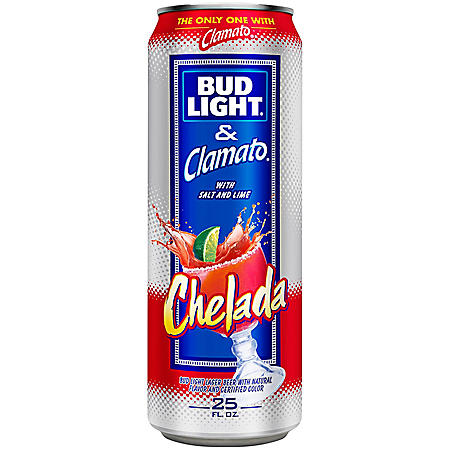 Bud Light & Clamato Chelada (25 fl. oz. can, 15 pk.)