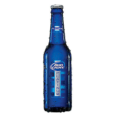 BUD LIGHT PLATINUM 18 / 12 OZ BOTTLES