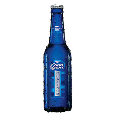 Bud Light Platinum 12 Fl Oz Bottle 18 Pk Sam S Club