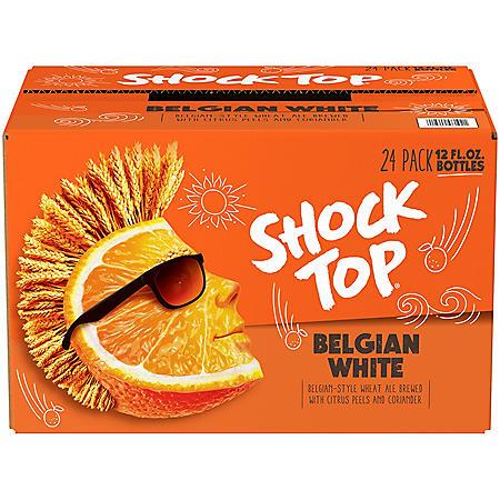 SHOCK TOP ALE 24 / 12 OZ BOTTLES