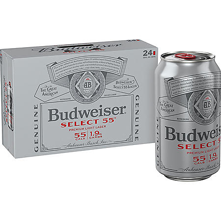 BUD SELECT 55 24 / 12 OZ CANS