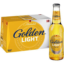 Michelob Golden Light Draft Beer (12 fl. oz. bottle, 18 pk.)