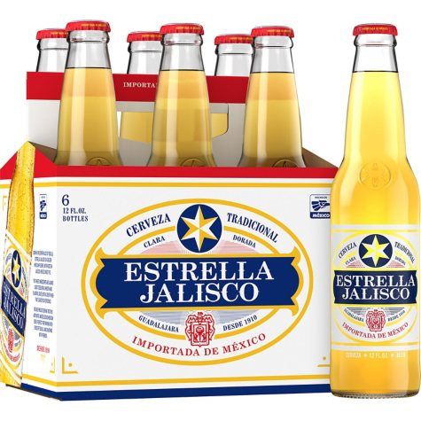 Estrella Jalisco Beer (12 fl. oz. bottle, 6 pk.)