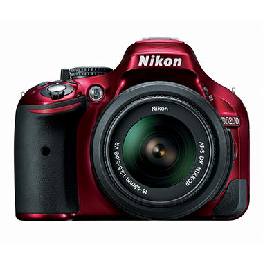 Nikon D5200 24.1MP DSLR Kit with 18-55mm VR Lens - Various Colors