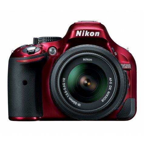 Nikon D5200 24.1MP DSLR Kit with 18-55mm VR Lens - Various Colors