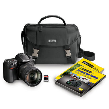 Nikon D7000 16.2MP DSLR Camera Bundle with 18-200mm VR Lens, Bag, and 16GB SDHC Card