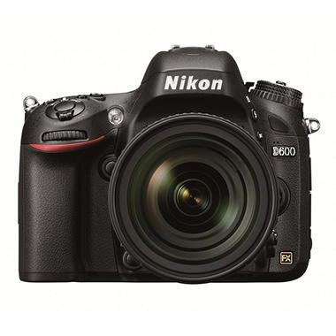Nikon D600 Kit with 24-85mm VR Lens - 24.3MP FX Format CMOS Sensor