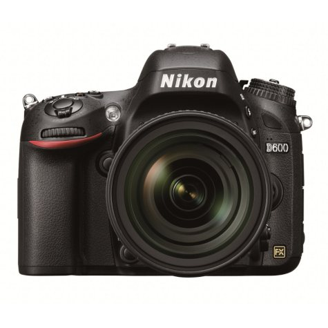 Nikon D600 Kit with 24-85mm VR Lens - 24.3MP FX Format CMOS Sensor