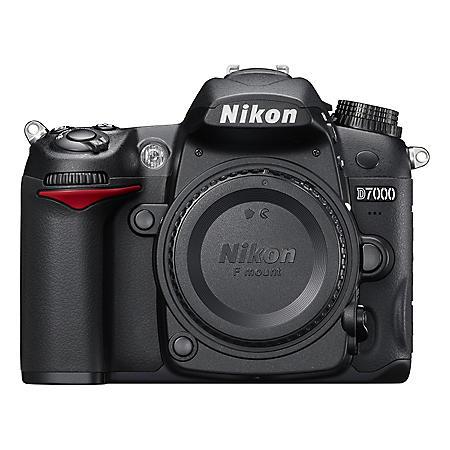 Nikon D7000 16.2MP Digital SLR Camera - Body Only