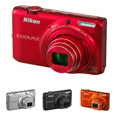Nikon S6500 16MP Digital Camera with 12x Optical Zoom