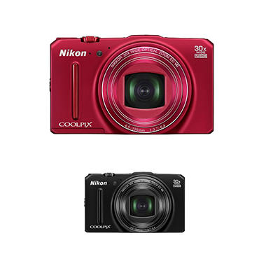 Nikon Coolpix S9700 16MP CMOS Digital Camera with 30x Optical Zoom