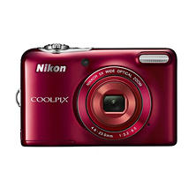 Nikon Coolpix L32 20.1MP Digital Camera with 5x Optical Zoom and HD 720p Video