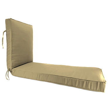 Outdoor Chaise Cushions, Various Colors