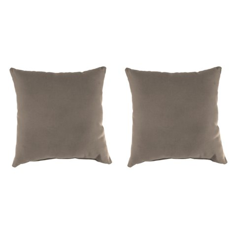 Sunbrella Throw Pillows, Set of 2 (Assorted Colors)