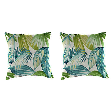 Outdoor Throw Pillows Set Of 2 Assorted Styles Sam S Club