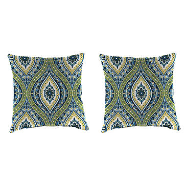 Outdoor Throw Pillows Set Of 2 Assorted Styles Sams Club