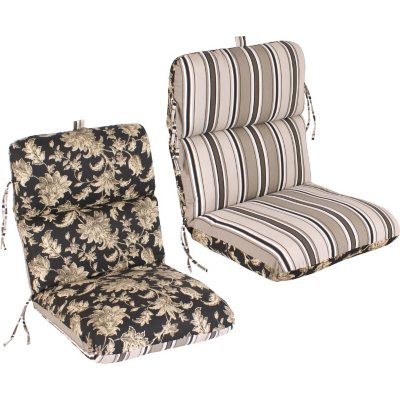 Replacement patio chair cushion fallenton coal armona Replacement cushions for patio furniture