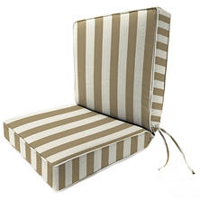 Sunbrella Deep Seating Chair Cushion, Various Colors