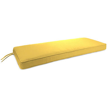 Sunbrella Boxed Bench Cushion, Various Colors