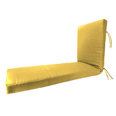 Sunbrella Chaise Lounge Cushion Various Colors  sc 1 st  Samu0027s Club : cushions for chaise lounge - Sectionals, Sofas & Couches