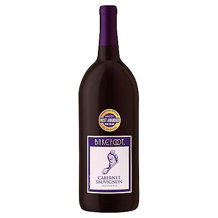 Barefoot Cabernet Sauvignon Red Wine (1.5L)