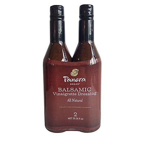 Panera Bread Balsamic Vinaigrette Dressing (25.36 oz., 2 pk.)