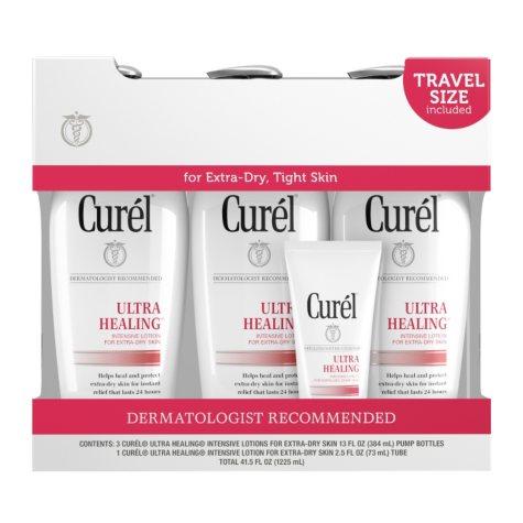 Curel Ultra Healing Lotion (13 fl. oz., 3 pk. with 2.5 fl. oz. Travel Size)