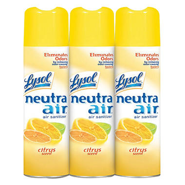 Lysol Neutra Air Citrus Scent  (16 oz., 3 pk.)