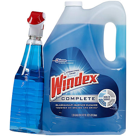 Windex Complete Glass Amp Multi Surface Cleaner 204 Fl Oz