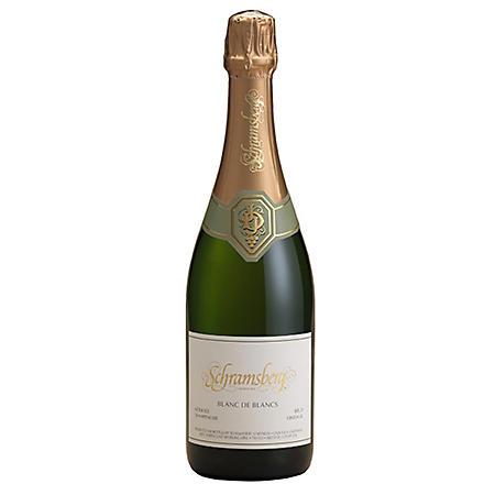 Schramsberg Blanc de Blancs Sparkling Wine (750 ml)