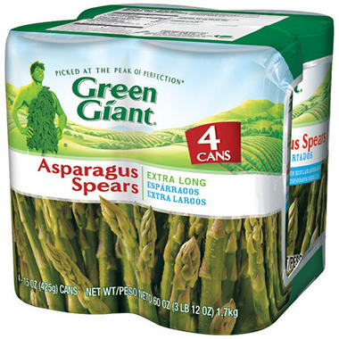 Green Giant Asparagus Spears - 4/15 oz. cans