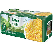 Green Giant Niblets - 8/11 oz. cans