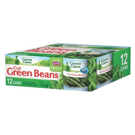 Green Giant Cut Green Beans (14.5 oz. can, 12 ct.)
