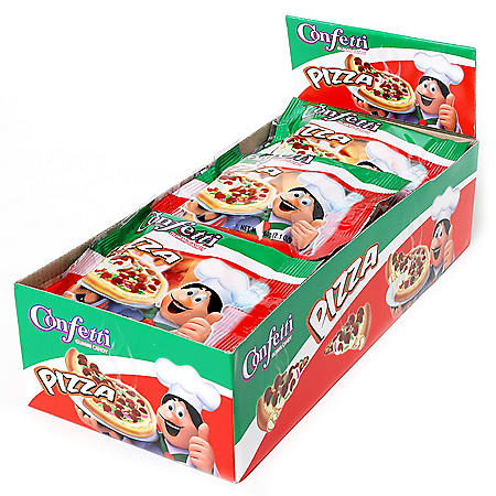 Confetti Pizza Gummies Candy (12 pk.)