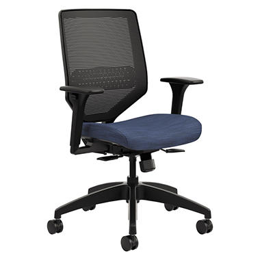 HON Solve Series Mesh Back Task Chair, Midnight