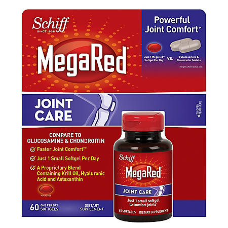 Schiff MegaRed Joint Care (60 ct.)