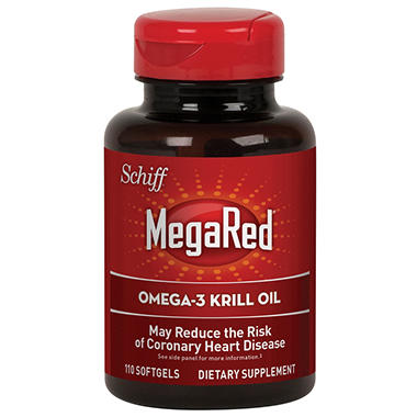 Schiff - MegaRed Omega-3 Krill Oil Softgels - 110 ct.