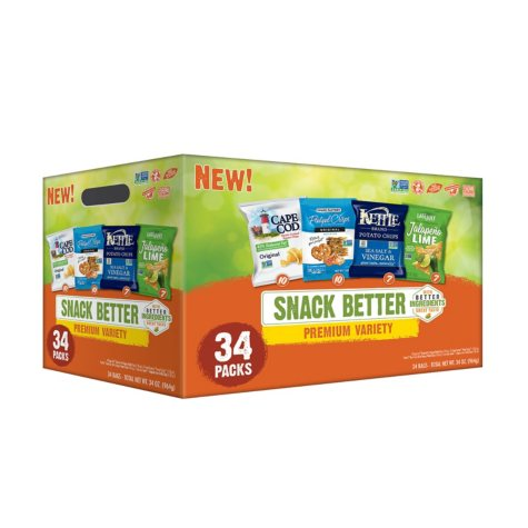 Snack Better Premium Variety Pack (1 oz. ea., 34 ct.)