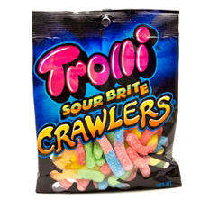 Trolli Sour Brite Crawlers Candy (5.0 oz. bag)