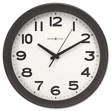 "Howard Miller Kenwick Wall Clock, 13-1/2"", Black"