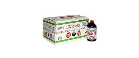 Xcel Dot 3 Brake Fluid - 12/ 12 oz.
