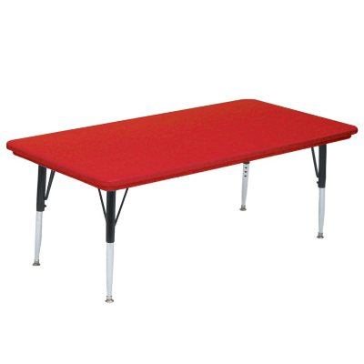 Correll 5 Rectangle Shaped Activity Table Select Color Sams Club